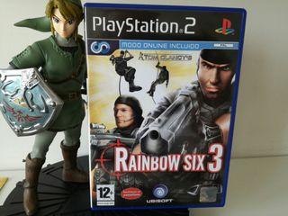 Tom Clancys Raimbow Six como nuevo PS2