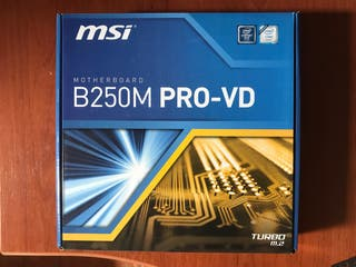 Placa base MSI B250M PRO-VD