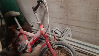 Bicicleta para niño, se limpia y se areegla a part