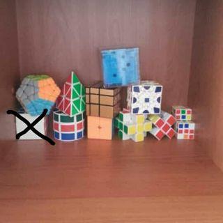 coleccion de cubos de rubik