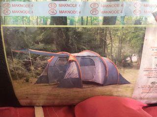 Tienda de campaña mas accesorios para acampada
