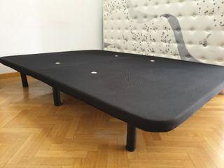 Base tapizada 3D doblada (2piezas) 1,35 x 1,90
