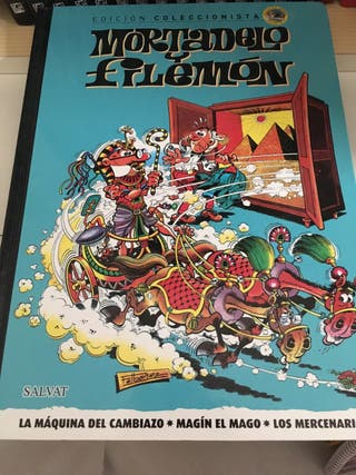 15 Cómics de Mortadelo y Filemón