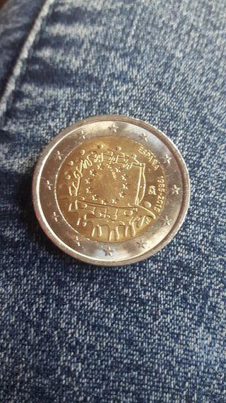 moneda 2 euros escucho ofertas