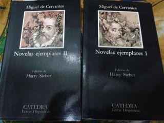 Libros Novelas Ejemplares