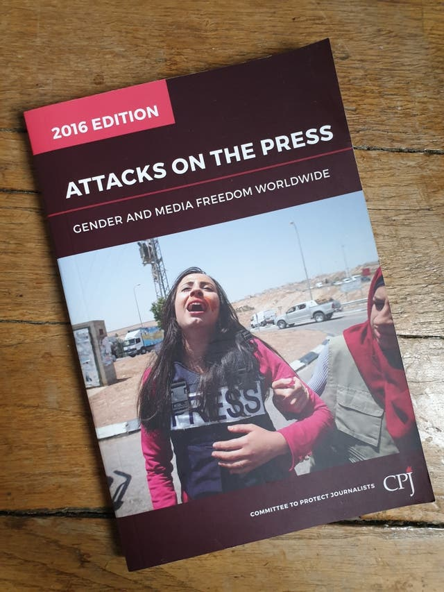 "Book ""Attacks on the Press"""