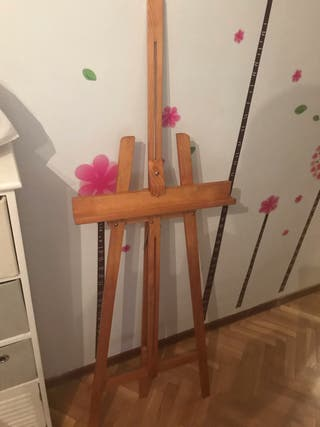 Caballete de pintura madera