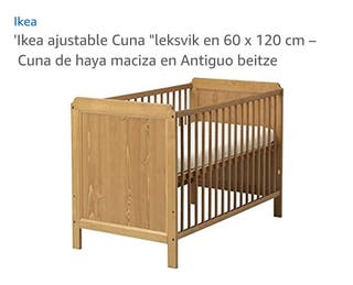 Cuna Ikea+colchón