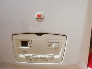 Calentador de gas natual