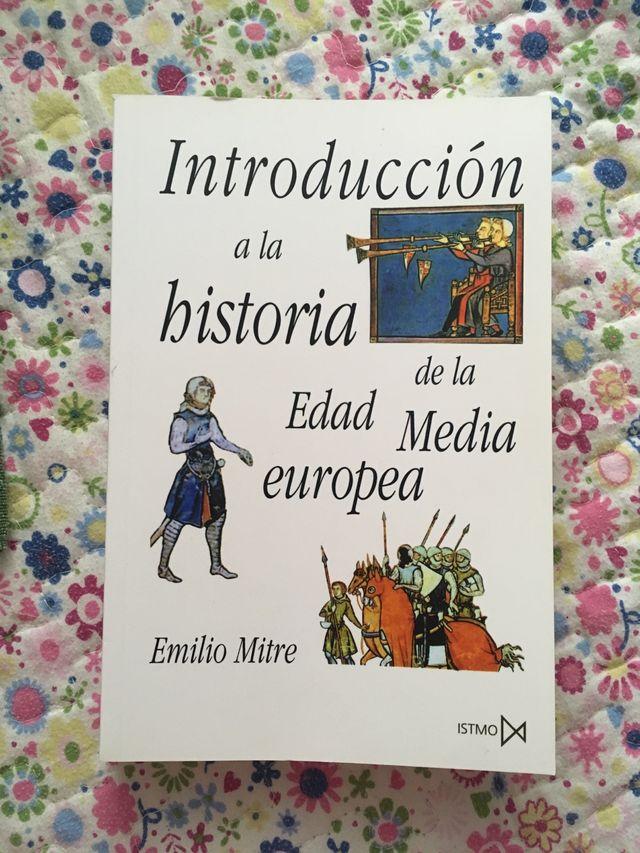 Libro introducción a la historia de la edad media