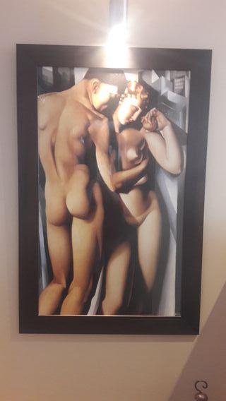 """Cuadro Lempicka: """"Adán y Eva"""""""