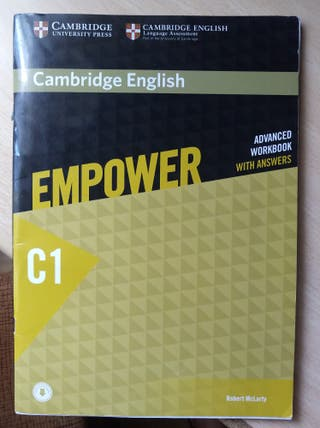 Cambridge English Empower Advanced Workbook C1