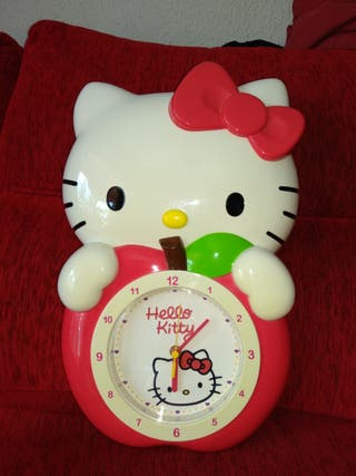 Reloj pared Hello Kitty