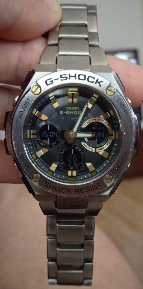 RRP£325 CASIO G-SHOCK STEEL WATCHES