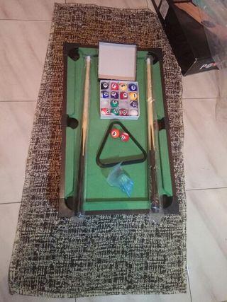 Mesa de billar mini