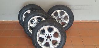 4 Neumáticos inverno y sus llantas 225 55 R16 99H