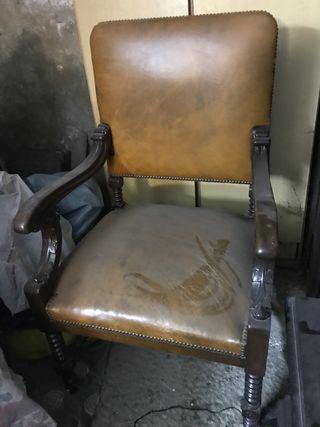 Sillón trono antiguo