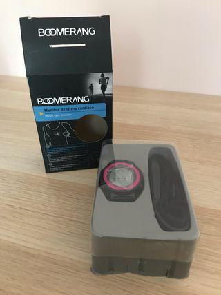 Monitor ritmo cardíaco Boomerang nuevo
