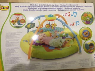 Gimnasio musical para bebes
