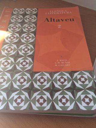 Llegua i literatura catalana 2 Batxillerat
