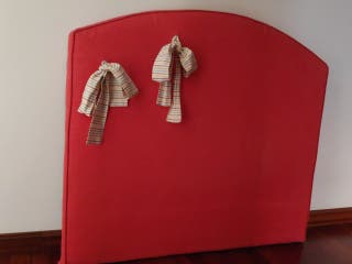 Cabecero tapizado cama 105