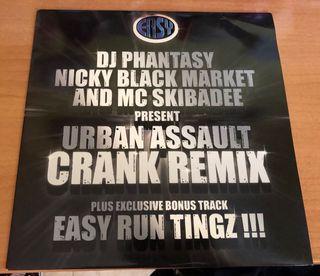 Vinilo Dj Phantasy Nicky Blackmarket & MC Skibadee