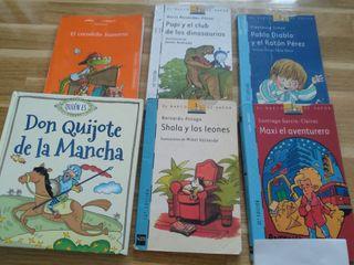 Libros lectura infantil 7 y 8 años