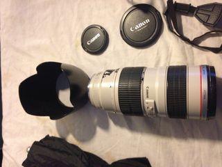 Objetivo Canon EF 70-200 mm f/2.8 L USM