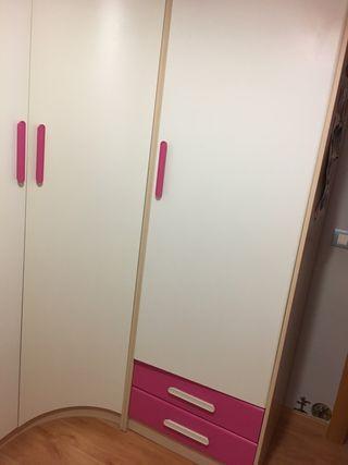 Armario habitación juvenil