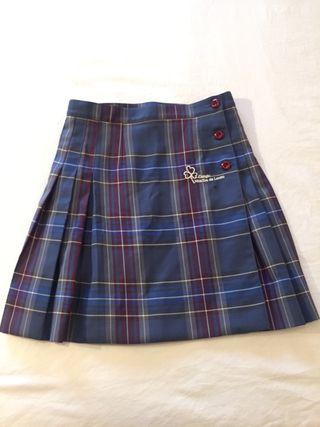 Falda uniforme Loreto talla 12 - 14