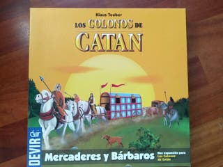 Expansión de Catán Mercaderes y Bárbaros
