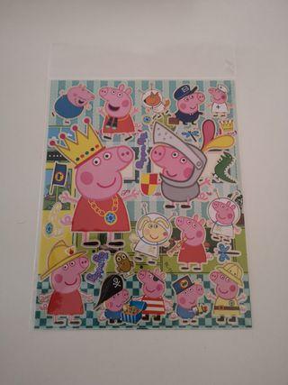 24 pegatinas Peppa Pig