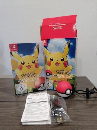 juego Pokémon + Pokeball plus