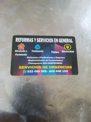 albañil reformas genera