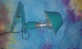 Mini lampara-pinza vintage