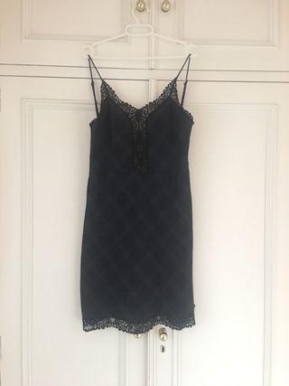 Por Cuadro Escocés Segunda Vestido Lencero Zara De Mano 15 hQtrdsC