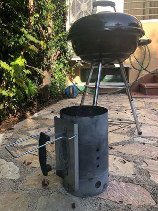 Barbacoa carbón Weber Kettle compact 47cm