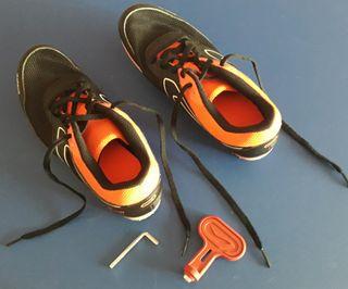 Zapatillas de atletismo con tacos