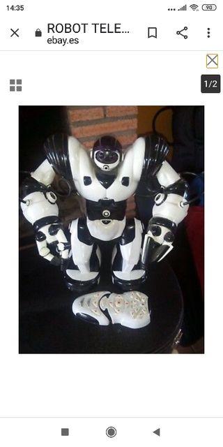 ROBOT TELEDIRIGIDO CON MSNDO Y LIBRO DE INSTRUCCIO
