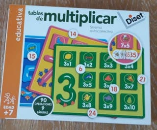 Tablas de multiplicar Diset