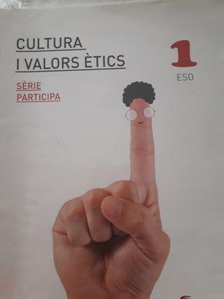 Llibre Cultura i Valors Etics 1ESO