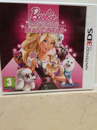juego nintendo 3ds Barbie mascotas