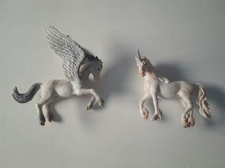 Schleich unicornio y pegaso