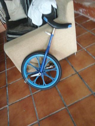 biciclo azul