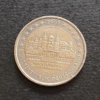 Dos euros conmemorativos de Alemania 2007