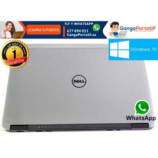 Portátil Dell E7240, i5, 8Gb, SSD, Windows 10 Grat