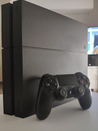 PS4+DUALSHOCK 4 (Mando PS4)+JUEGOS
