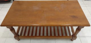 Mesa de madera centro