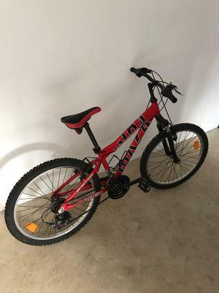 Bicicleta Orbea Roja