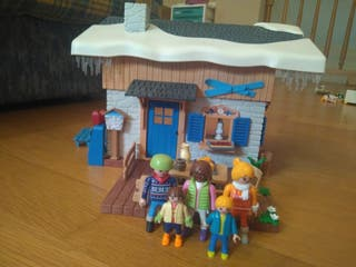 Casita de nieve Playmobil
